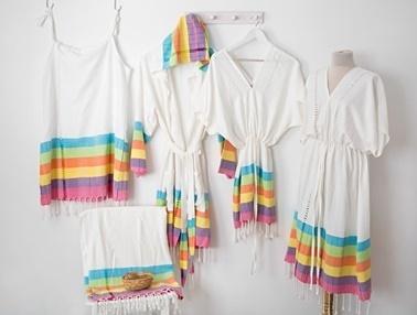 İrya Ev Elbisesi Beyaz